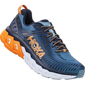 Hoka One One Arahi 2 - Chaussures running Homme - orange/bleu
